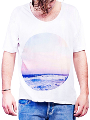 The Tumbling Waves Tee