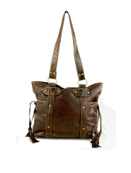 Jo Tote Bag - Brown
