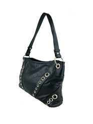 Bethy Bag - Black Leather