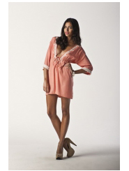 peachy peach - twilight nights dress