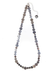 Banjara Jewellery - Tribal Sequin Necklace (Sterling Silver)