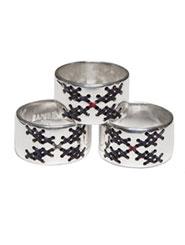 Banjara Jewellery - Tribal Flower Ring (Sterling Silver)