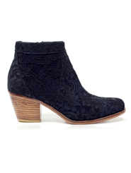 Saddle Lace Bootie