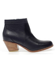 Saddle Hand Made Leather Bootie