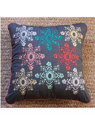 Embroidered Cushion - Mandala