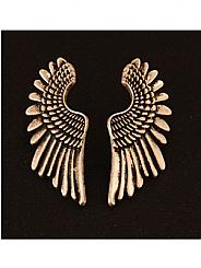 Chosen By - Antique Silver angel Wing Earrings