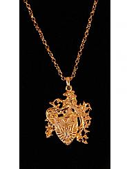 Chosen By - Gold Crest Design Necklace