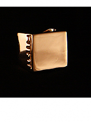 ATAT - Gold Square Ring