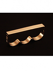 ATAT - Gold 3 Finger Ring