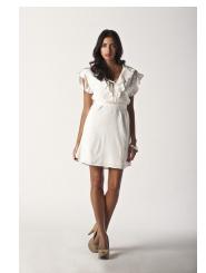 pearl white - lulu dress