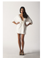 pearl white - twilight nights dress