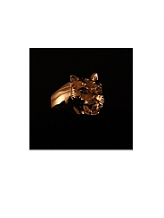 ATAT - Gold Ra Cat ring