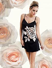 Camellia Rose Chemise
