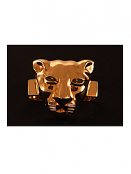 ATAT - Gold Lioness 3 Finger Ring